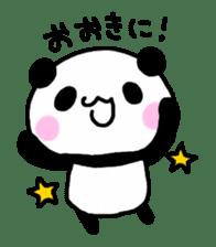 Panda go to Kansai sticker #2038712