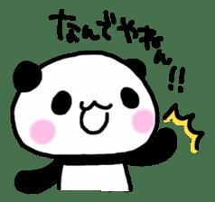Panda go to Kansai sticker #2038714
