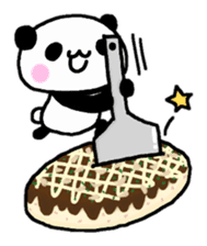 Panda go to Kansai sticker #2038723