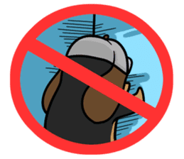 Stop! No! sticker #2038928