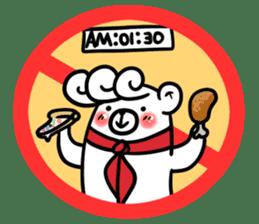 Stop! No! sticker #2038931