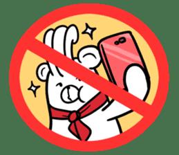 Stop! No! sticker #2038933