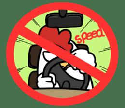 Stop! No! sticker #2038935