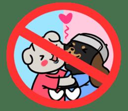 Stop! No! sticker #2038961