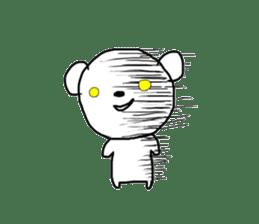 polar bear called white bear sticker #2039497