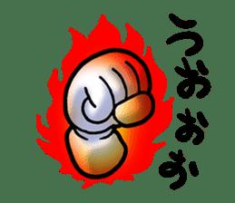 Hand Man No. 1 sticker #2039857