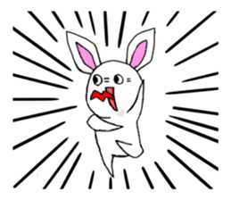 Bunny that use the Osaka dialect. sticker #2042084