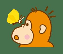 "Orangutan""colon-chan"" sticker #2042488"