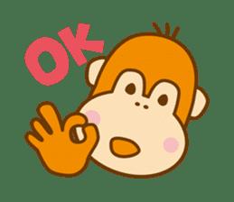 "Orangutan""colon-chan"" sticker #2042489"