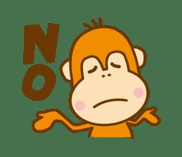 "Orangutan""colon-chan"" sticker #2042490"