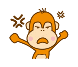 "Orangutan""colon-chan"" sticker #2042492"