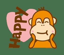 "Orangutan""colon-chan"" sticker #2042497"