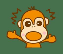 "Orangutan""colon-chan"" sticker #2042500"