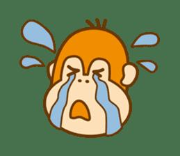 "Orangutan""colon-chan"" sticker #2042502"
