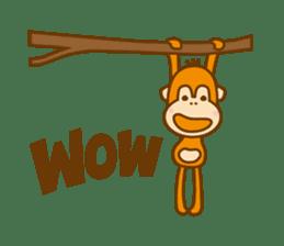 "Orangutan""colon-chan"" sticker #2042505"