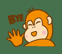 "Orangutan""colon-chan"" sticker #2042508"