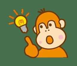 "Orangutan""colon-chan"" sticker #2042509"