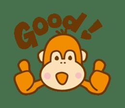 "Orangutan""colon-chan"" sticker #2042512"