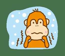 "Orangutan""colon-chan"" sticker #2042519"