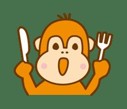 "Orangutan""colon-chan"" sticker #2042520"
