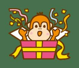 "Orangutan""colon-chan"" sticker #2042522"