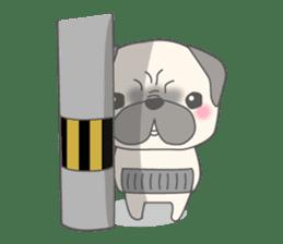 Pugzo sticker #2043049