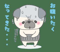Pugzo sticker #2043059