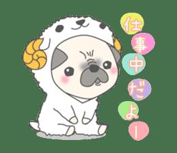 Pugzo sticker #2043064