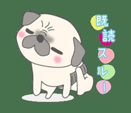 Pugzo sticker #2043070