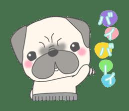 Pugzo sticker #2043074