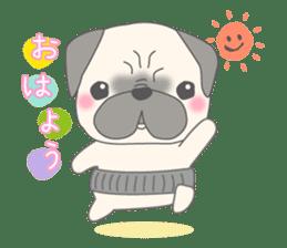 Pugzo sticker #2043078