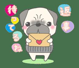 Pugzo sticker #2043079