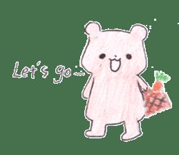 The heart-warming bear sticker #2043704