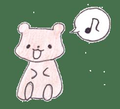 The heart-warming bear sticker #2043709