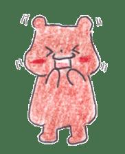 The heart-warming bear sticker #2043722