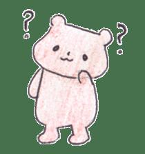 The heart-warming bear sticker #2043723