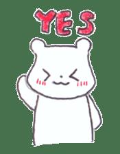 The heart-warming bear sticker #2043724