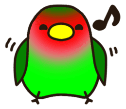 Lovebird sticker #2044454