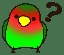 Lovebird sticker #2044455