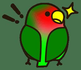 Lovebird sticker #2044456