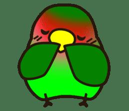 Lovebird sticker #2044457