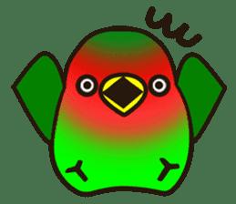 Lovebird sticker #2044458