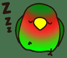 Lovebird sticker #2044466