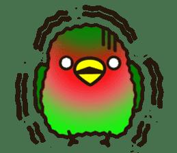 Lovebird sticker #2044467