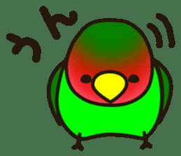 Lovebird sticker #2044468