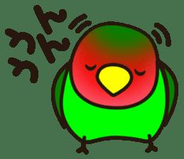 Lovebird sticker #2044469