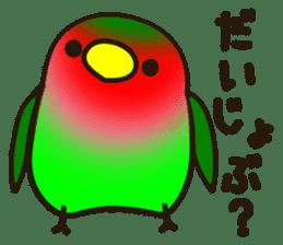 Lovebird sticker #2044472