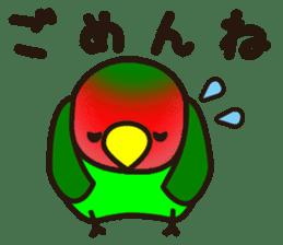 Lovebird sticker #2044474