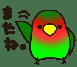 Lovebird sticker #2044475