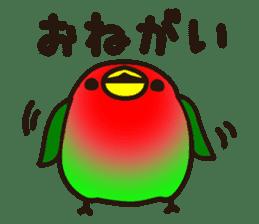 Lovebird sticker #2044476